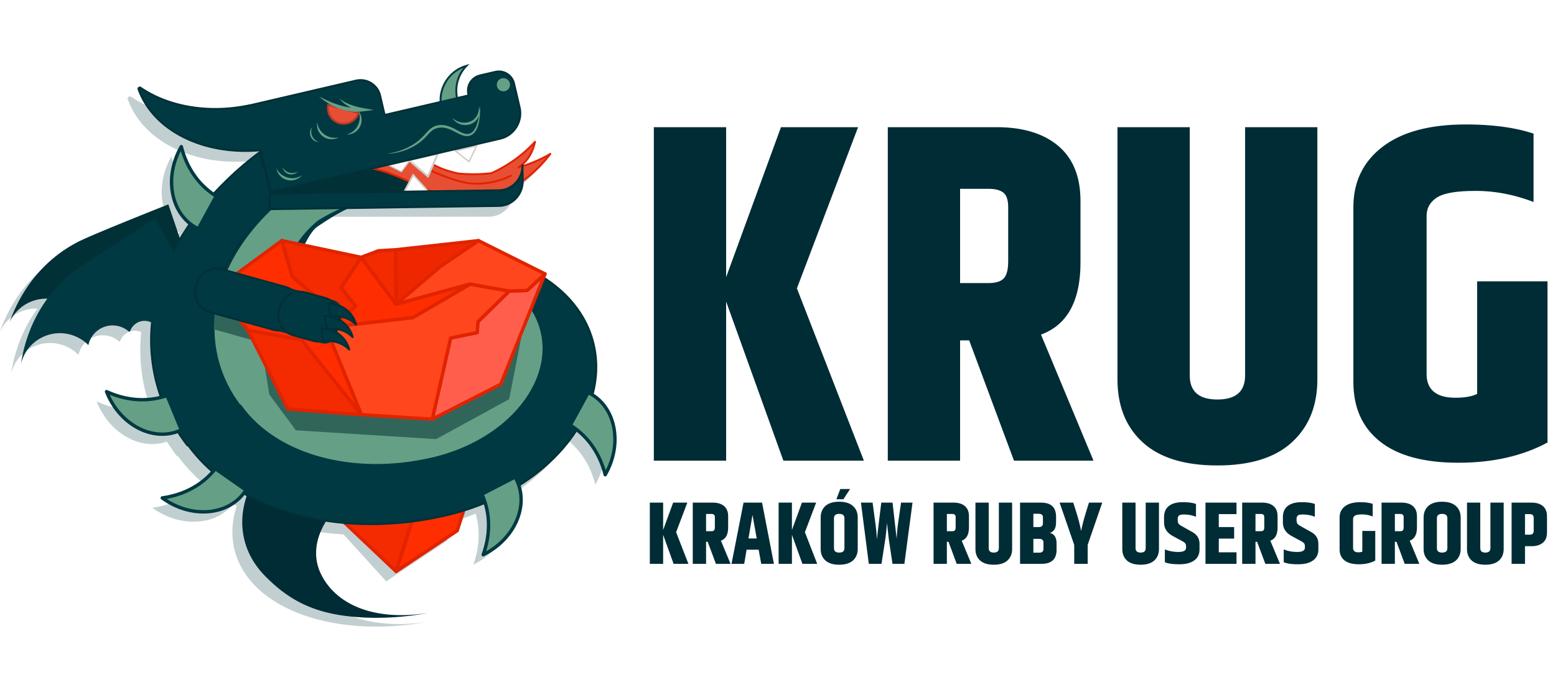 Krakow Ruby User Group logo